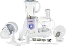 Suntron 1000W Food Processor with 21 Functions, White – ITM17